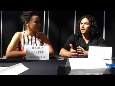 Black Sails -- Jessica Parker Kennedy and Luke Arnold part ...