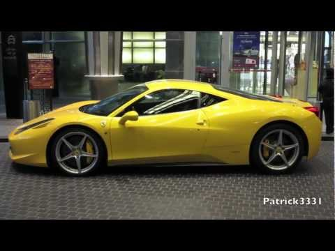 Ferrari 458 Italia bright yellow