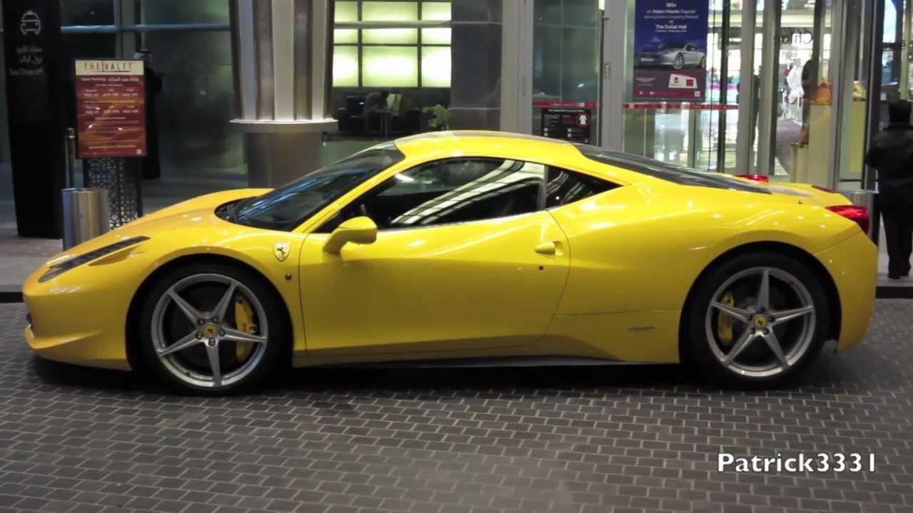 Yellow Ferrari 458 Italia (58 Wallpapers) – HD Desktop ...