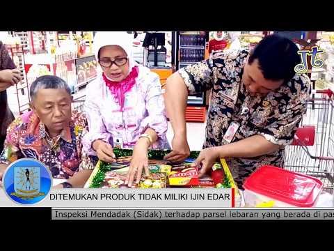 Petugas KUKMP DKI Jakarta Temukan Sejumlah Produk Tanpa Izin Edar Pada Parsel Lebaran