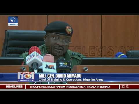 Nigerian Army To Launch 'Operation Last Hold' May 1st