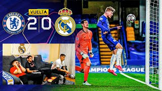 CHELSEA 2-0 REAL MADRID **ELIMINADOS de la CHAMPIONS LEAGUE**