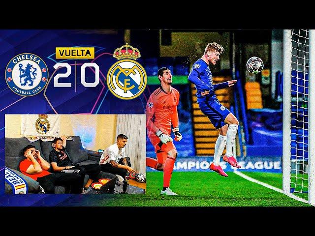 CHELSEA 2-0 REAL MADRID **ELIMINADOS de la CHAMPIONS LEAGUE**