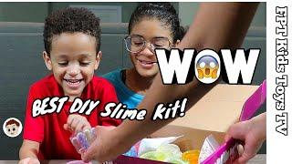 Best DIY Slime kit from ChefSlime! | FPT Kids Toys TV