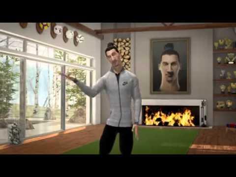 Astronave Mala suerte Dependiente  Zlatan Ibrahimovic on Penalties - Nike Football - HD - 2014 - YouTube