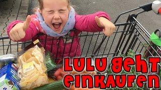 SHOPPING 🍌 Lulu geht einkaufen  😍  mit Lulu & Leon - Family and Fun