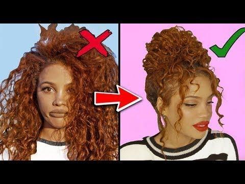 8 причесок для кудрявых волос | AndreasChoice