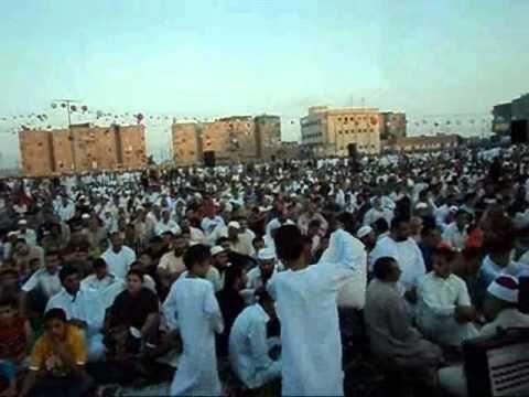 صلاة العيد بمدينة المطرية دقهلية 1431 هـ