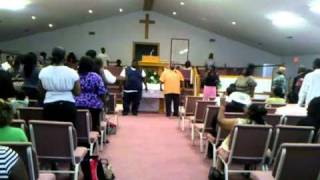 "Mt. Moriah Baptist Church Praise Team ""IMMACULATE PRAISE"" performs ""For Your Glory"""