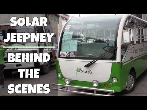 Star8 Solar Electric Jeepney and Tricycle Philippines