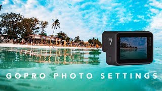 The Absolute BEST PHOTO Settings for the GoPro Hero7 Black (w/ Adobe Lightroom Tutorial) | RehaAlev