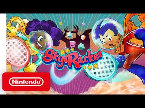 Sky racket - launch trailer - nintendo switch