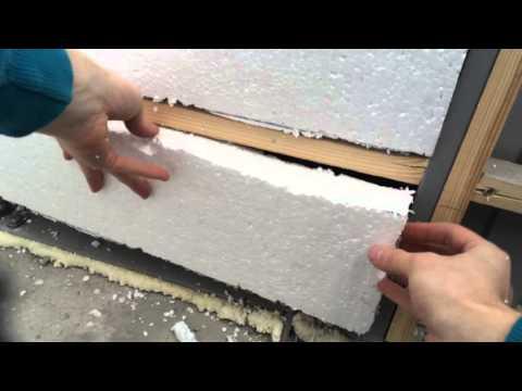 Видеозапись Чем клеить пенопласт
