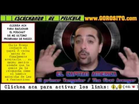 EL CAPITAN AMERICA EL PRIMER VENGADOR - video comentario / critica / opinion de la pelicula