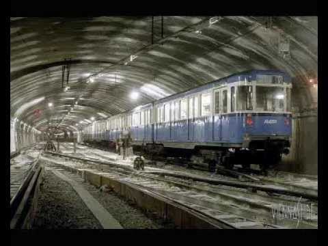Paris Metro trains 1980s (audio)
