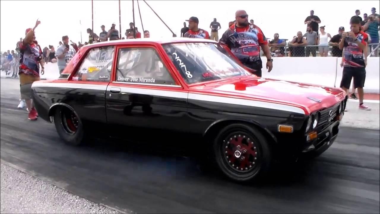 Turbo Datsun Drag Racing Youtube