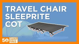 Camping Gear: Travel Chair Sleeprite Cot - 50campfires