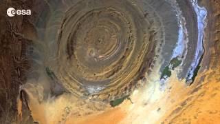 Video Richat structure, Mauritania | Desert bullseye download MP3, 3GP, MP4, WEBM, AVI, FLV Agustus 2018