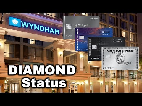 Use Credit Cards For Wyndham DIAMOND Status