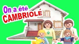 STORY TIME - On a été CAMBRIOLE 😫 - Explication & Reconstitution avec les playmobil
