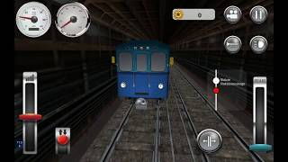 "🚉 ""M"" #Metropolitain - #Mertopolitatan Train Drive ащщ (ДублиЧек 1)"
