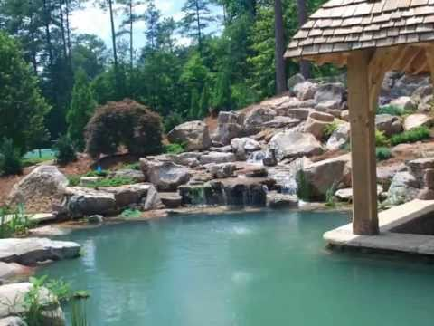 Splendor koi pond construction youtube for Koi pond contractors