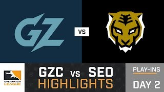 HIGHLIGHTS Guangzhou Charge vs. Seoul Dynasty   Play-Ins   Day 2   Overwatch League
