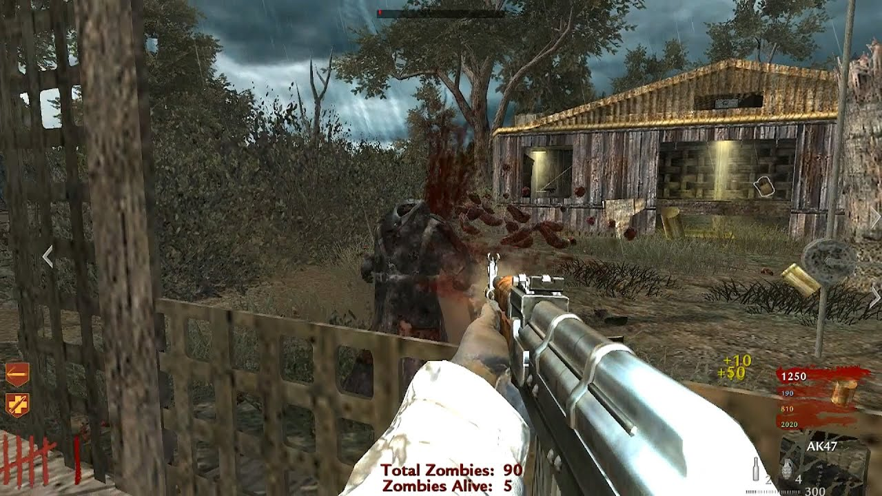 COD World at War Custom Zombies Nazi Forts YouTube