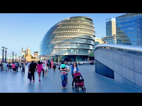 LONDON WALK | London Bridge to City Hall incl. HMS Belfast | England