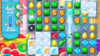 Candy Crush Soda Saga Level 726 - NO BOOSTERS