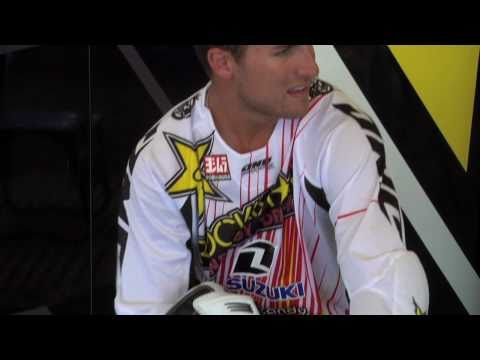 ONE Industries - Team Rockstar Suzuki White Gear