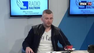 """Член организации """"Мозаика"""" Каспар Залитис в программе """"Разворот"""" #MIXTV"""