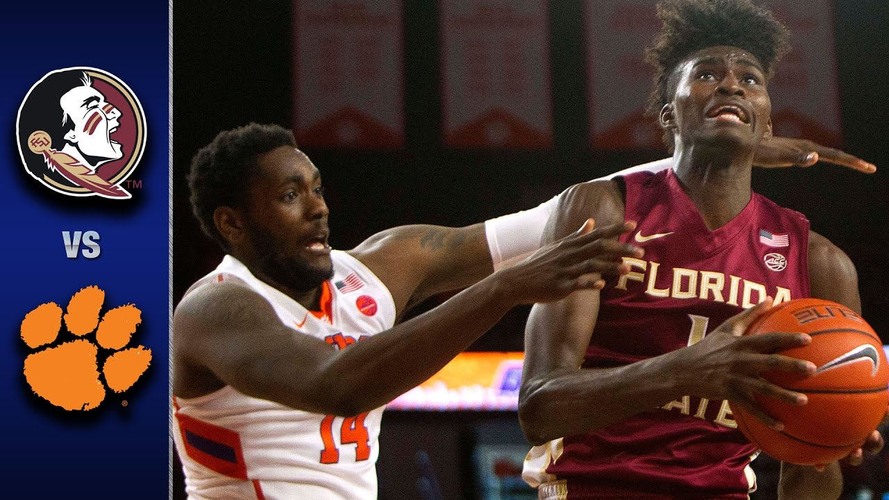 Image result for Clemson vs Florida State basketball