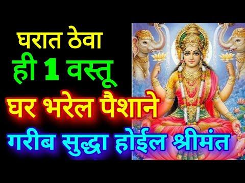 घरात ठेवा ही 1 वस्तू घर भरेल पैशाने गरीब सुद्धा होईल श्रीमंत Vastu Tips For Money Mata Lakshmi