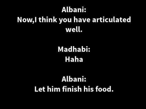 Imam Al-Albani Debates A Madhab Supporter (Wonderful Discussion)