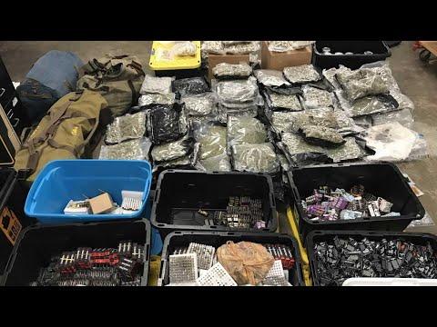 Drugs Worth $2.3 Million Seized In Franklin County Raid