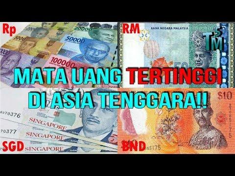 SAINGAN DOLLAR! TOP 5 Mata Uang Dengan Nilai Tertinggi Di Asia Tenggara