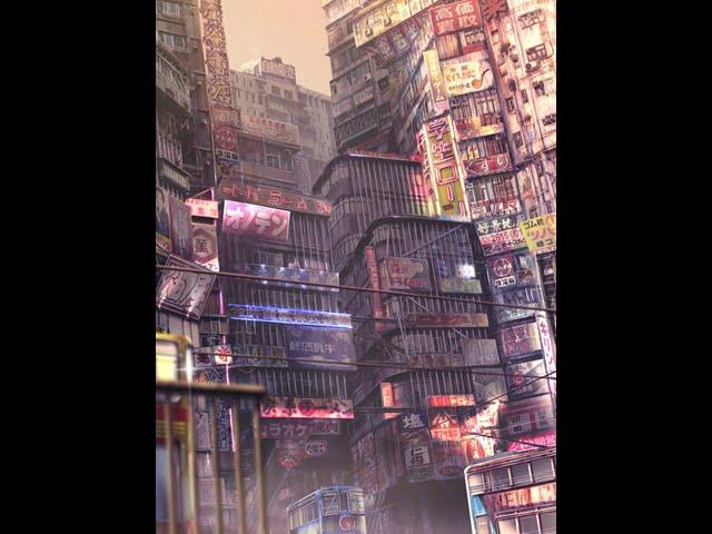 映像作品「NEW CITY」 動くネオン コンセプトアートを動かしてみた