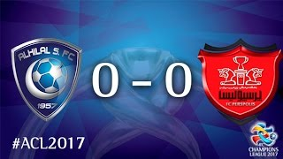 Al Hilal vs Persepolis (AFC Champions League 2017 : Group Stage - MD5) 2017 Video