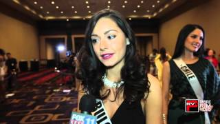 2015 Miss Bulgaria Radostina Todorova talks about her Miss Universe Experience