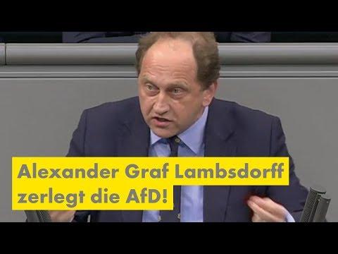 Alexander Graf Lambsdorff zerlegt die AfD