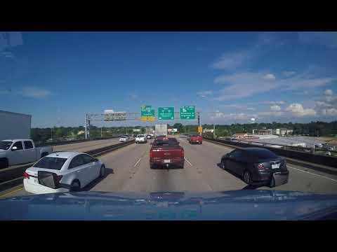 Trucking Through Baton Rouge La During Rush Hour Traffic
