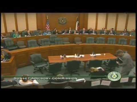 Sunset Commission Public Hearing State Board of Dental Examiners - Part 1