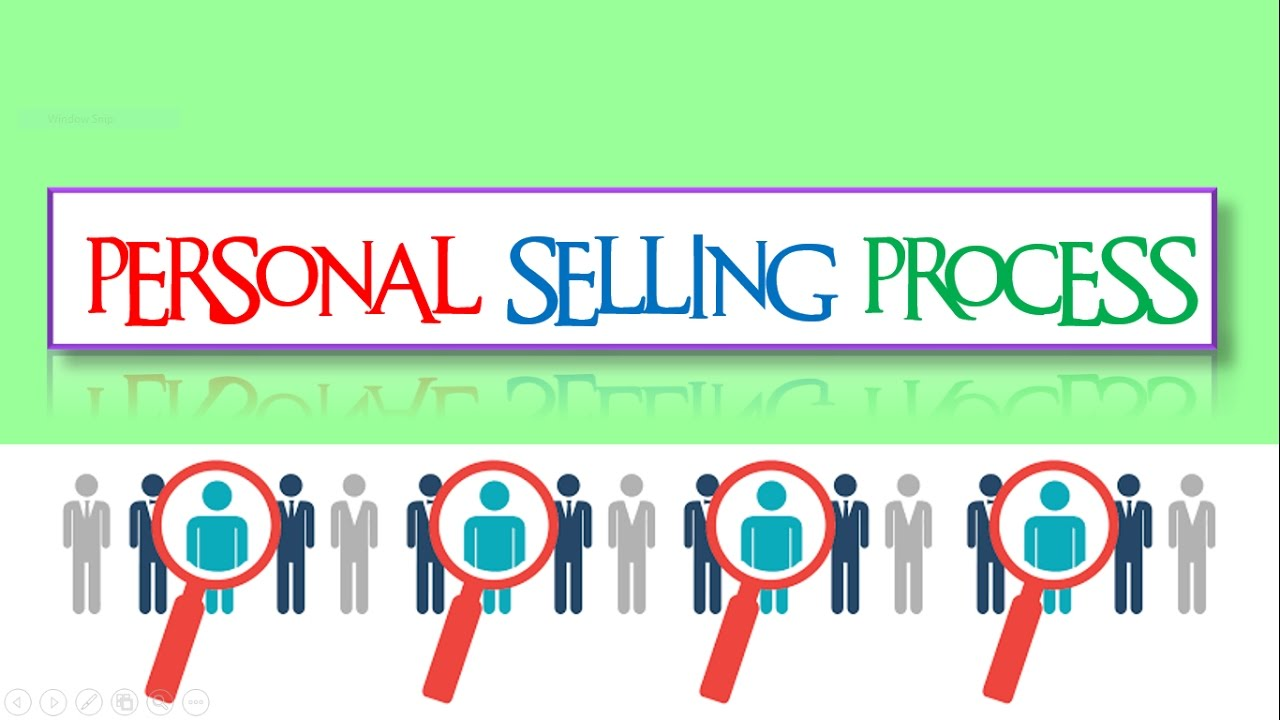 Personal selling process || Meaning || with examples || BBA / Bcom ...
