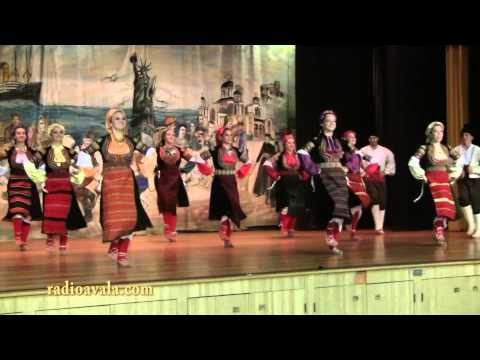 Sumadija Folklore Group at Milwaukee Serb Fest, at St. Sava Serbian Orthodox Church in MIlwaukee
