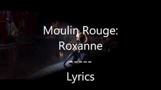 Moulin Rouge - El Tango De Roxanne - Lyrics on Screen