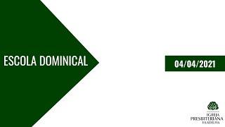 Escola Bíblica Dominical  Eclesiologia A Doutrina da Igreja   04/04/2021