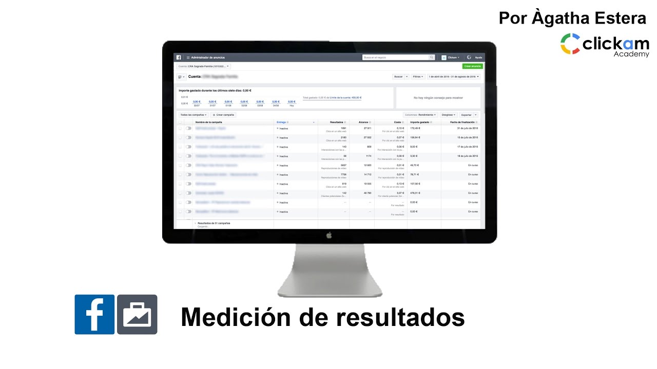 Facebook Ads: crea e interpreta los informes de resultados - YouTube