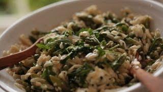 Spring Veggie Orzo Recipe  || Kin Eats