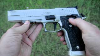 Shooting Sig Sauer X6 Supermatch
